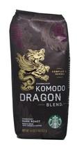 Starbucks - Roasted Whole Bean Coffee - 16 oz - Pack of 2 (Komodo Dragon Blend) - $99.95