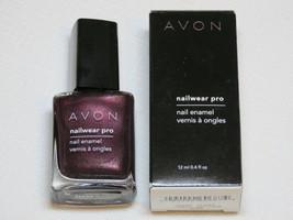 Avon Nailwear pro Uña Esmaltado N239 Noche Viol 12 ML 0.4 Fl oz Pulir Mani Pedi - $10.61