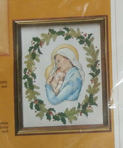 """Creative Circle #2149 Mother and Child Unopened 8"""" x 10"""" Christmas Madonna  - $8.79"""