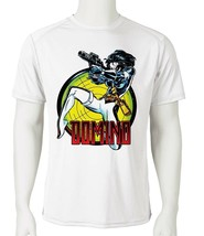 Domino Dri Fit graphic Tshirt moisture wicking superhero comic SPF sun shirt tee image 1