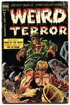WEIRD TERROR #11 1954-DON HECK-end of the world story-Atomic Blast panels - $226.98