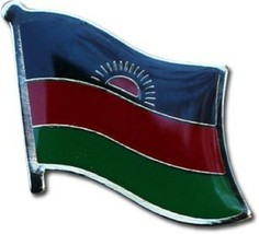 Wholesale Pack of 50 Malawi Country Flag Bike Hat Cap lapel Pin - $74.88