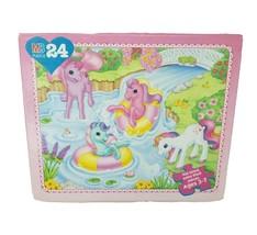 Vintage 1997 My Little Pony G2 Milton Bradley 24 Pieces Puzzle Complete in Box - $26.75