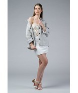 NUHA - Hand woven oversized light grey jacket - $94.00