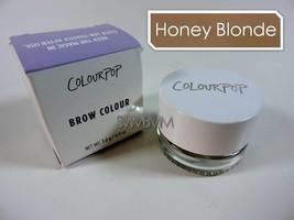 COLOURPOP Brow Colour 'HONEY BLONDE' Crème Gel | Warm-toned Blonde 3g Fu... - $14.80