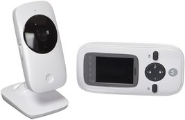 "Motorola MBP481 2.4 GHz Digital Video Baby Monitor with Color Screen, 2"" - $69.30"