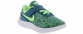 Nike Flex Contact Kids Green Neon Green Slip On Shoes AV8578 400  - $29.99