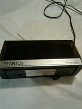 Vintage Spartus Solid State Alarm Clock (a327) - $24.75