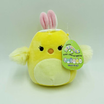 "Squishmallows Aimee Chick 5"" Easter Baby Chicken Stuffed Animal Kellytoy NWT - $14.99"
