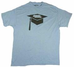 Large North Carolina Shirt Men's Majestic Tee Tar Heels T-Shirt Graduate Hat