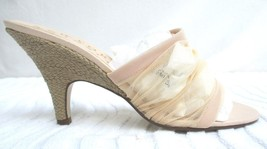 NEW YORK TRANSIT..PASTEL PEACH..SHEER..SLIP ON..MULES/ HEELS..NWOB..sz 8 - $24.99