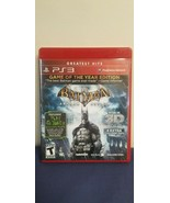 Batman Arkham Asylum Game of the Year Edition PS3 Sony Playstation Complete - $10.88