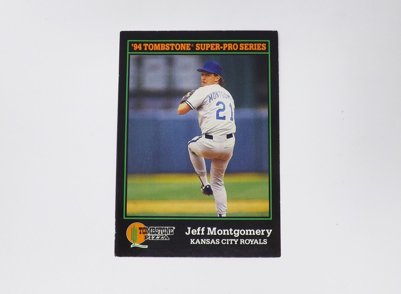 Primary image for 1994 Score Tomstone Super-Pro Series Jeff Montgomery Kansas City Trading Card
