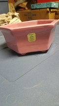 VINTAGE HAEGER U.S.A. # 3003 GLAZED PINK SIX(6)... - $25.00