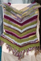 Womens Cover up / Cold Shoulder Poncho - $45.00