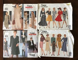 Lot of 4 VOGUE sewing patterns Womens OOP - $15.29