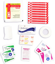 Small First Aid Kit Contents - 15 Essential Items! - $9.99