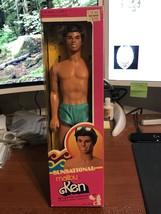 1983 Mattel sunsational Malibu Hispanic Ken Barbie Doll #4971 NIB - $62.95