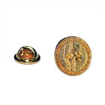 Golden Magna Carta Seal tie pin, Lapel Pin Badge, in gift box