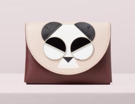Kate Spade spademals gentle panda cardholder Wallet ~NWT~ - $127.71