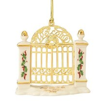 Lenox First Year in New Home Gate, Christmas Ornament - $42.57