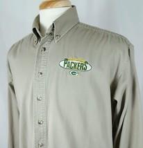 Green Bay Packers NFL Button Down Oxford Dress Casual Shirt Men Sz M Emb... - $16.93