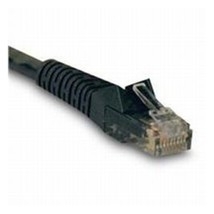 Tripp Lite Cable N201-010-BK Cat6 Gigabit Snagless Patch Cable 10ft. RJ45  Black - $24.73