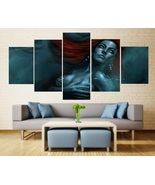 Red Sonja Wall Decor Painting Canvas Marvel Comics Red Sonja Poster HD F... - $74.99+