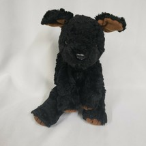 "Ty Vintage Classic 1996 Retired Plush 11"" Black Curly Lab Labrador PEPPER - $14.84"