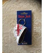NWT/BRITISH/UNION  JACK/TENNIS SHOE/KEY RING/KEYCHAIN/KEY FOB - $20.00