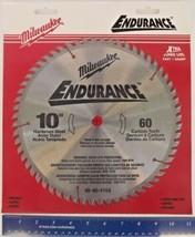 """Milwaukee 48-40-4164 10"""" x 60 Tooth Carbide Saw Blade 5/8 Arbor - $27.72"""