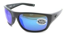 Costa Del Mar Sunglasses Tico 60-17-119 Matte Gray / Blue Mirror 580G Glass - $245.00