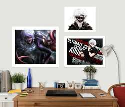 3D Tokyo Ghoul 498RAID Anime Combine Wall Sticker Wall Murals Wallpaper Amy - $34.59+