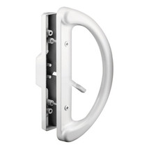 Prime-Line Die-Cast White Patio Door Handle Set Mortise Right Handed 143598 - $42.99