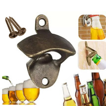 Hoomall® Durable Zinc Alloy Vintage Bottle Opener Wall Mounted Wine Beer - £2.85 GBP+