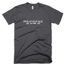 Men's American Apparel Polo Vintage T-Shirt, Premium Tees for Men, Gift for Him - $32.00+