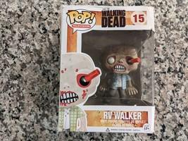 Funko Pop AMC The Walking Dead RV Walker Zombie #15 Vinyl Figure DAMAGED... - $16.81