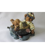 "Boyds Bears and Friends ""Ima Chillin...Takin' It Easy"" Bearstone Collection 1999 - €8,88 EUR"