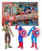 Captain America Avenger Mego Style Action Figure Diamond Select LE Colle... - $74.24
