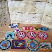 Vintage boy & girl scout patches etc Scouts patch lot - $19.34