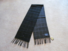 Authentic Polo Ralph Lauren Mens Scarf Lambs Wool Reversible New W/Tag - $39.59