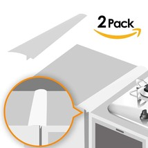 Linda's Silicone Kitchen Stove Counter Gap Cover Long & Wide Gap Filler ... - $10.63