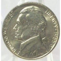 1985-D BU Jefferson Nickel In the Cello #0571 - $2.39