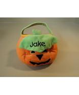 Goffa Intl Pumpkin Trick Or Treat Basket 18 Months Plus Polyester Fiber - $7.42