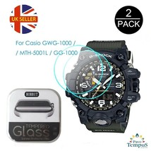 UK Stock 2x Watch Screen Protector for Casio G Shock GWG-1000 GG-1000 MT... - $22.43
