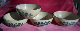 "4 Pfaltzgraff Folk Art Soup Cereal Bowls #009 5 1/4"" - $39.59"