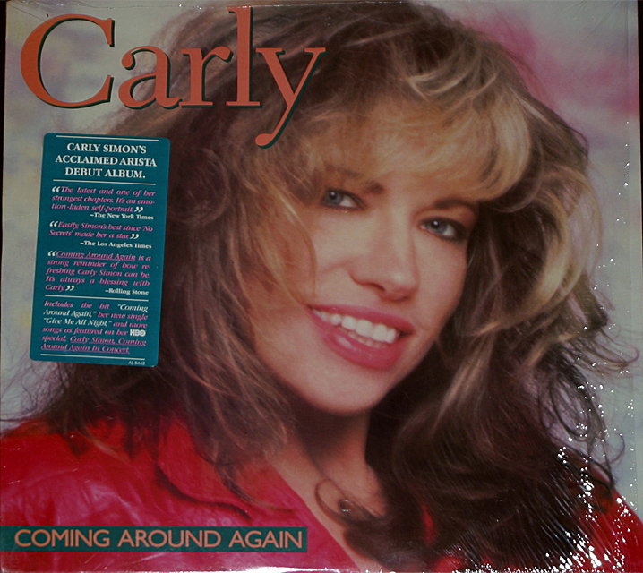 Carly simon  coming around again cover