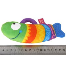 MACH LALA Lovely Big Mouth Fish Doll Plush Toy with gutta-percha Teether... - $6.50
