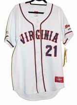 Super RARE Rawlings VIRGINIA HOOS Baseball Jersey Size 40 Large Pro-Dri-... - $98.32