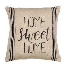 """New Farmhouse Home Sweet Home Pillow Country Home Decor 10"""" Square - $29.95"""